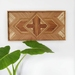 """VICTORIA"" -  Repurposed Wood Mosaic Wall Art"