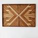 """AMELIA"" -  Repurposed Wood Mosaic Art"