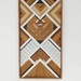 """RONNIE"" -  Repurposed Wood Mosaic Art"