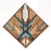 "*SOLD OUT* ""FINN"" -  Repurposed Wood Mosaic Art"