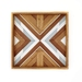 """WILDER"" -  Repurposed Wood Mosaic Art"