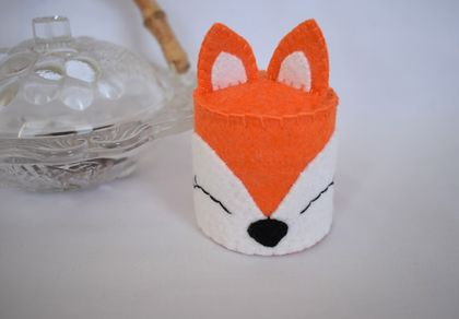 Mini Fox Cake, Felt Food
