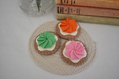 Cream Cookies, Felt Food