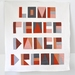 Modern minimalist quilt - Love, Peace, Dance, Dream