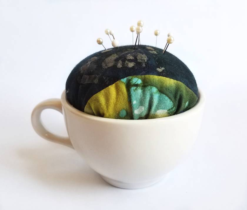Upcycled pin cushion