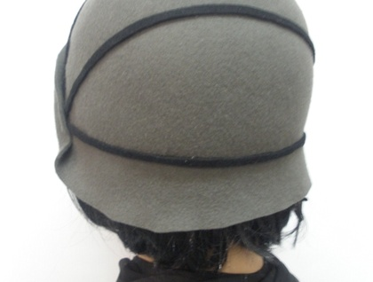 Lucille - Traditional 1920s Shaped Cloche - Choice of Colours