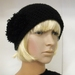 Crocheted Pompom Cloche - Clearance