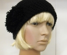 Crocheted Pompom Cloche - Made to Order