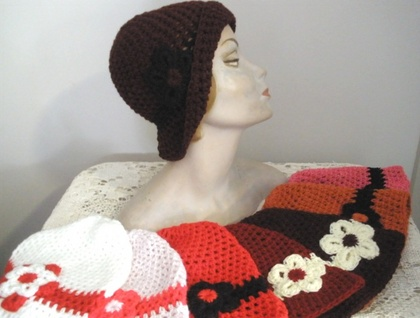 Crocheted Cloche - Style 1