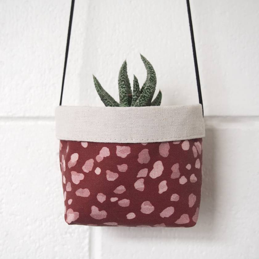Hanging Fabric Planter