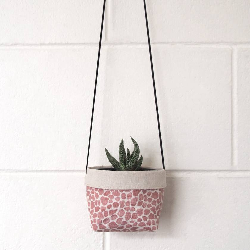 Hanging Fabric Planter