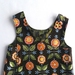Flowers in Green - Pinafore Frock