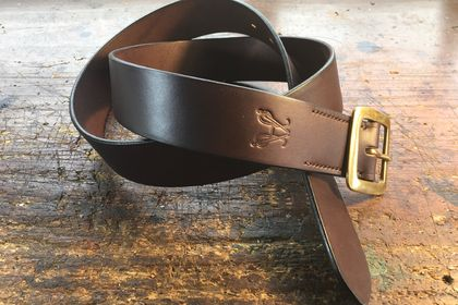 The Kiwi Stockman's Belt - Brown