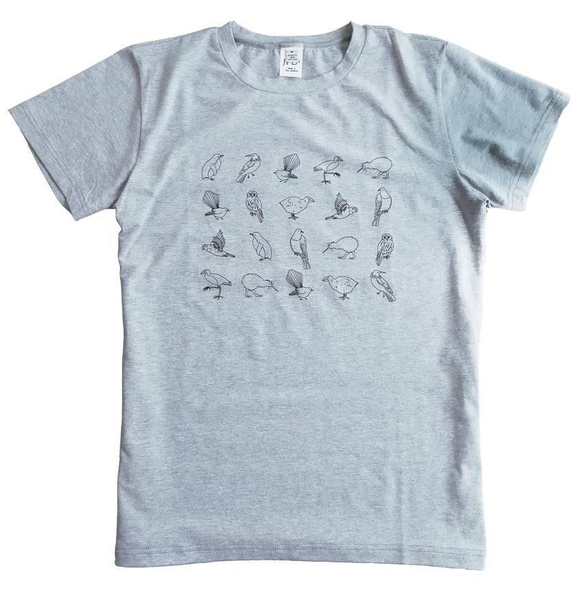 Men's/Unisex Native Bird T-shirt - Medium