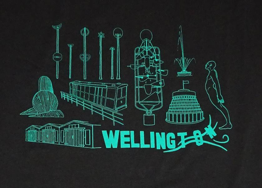 Men's/Unisex Wellington T-shirt - Large