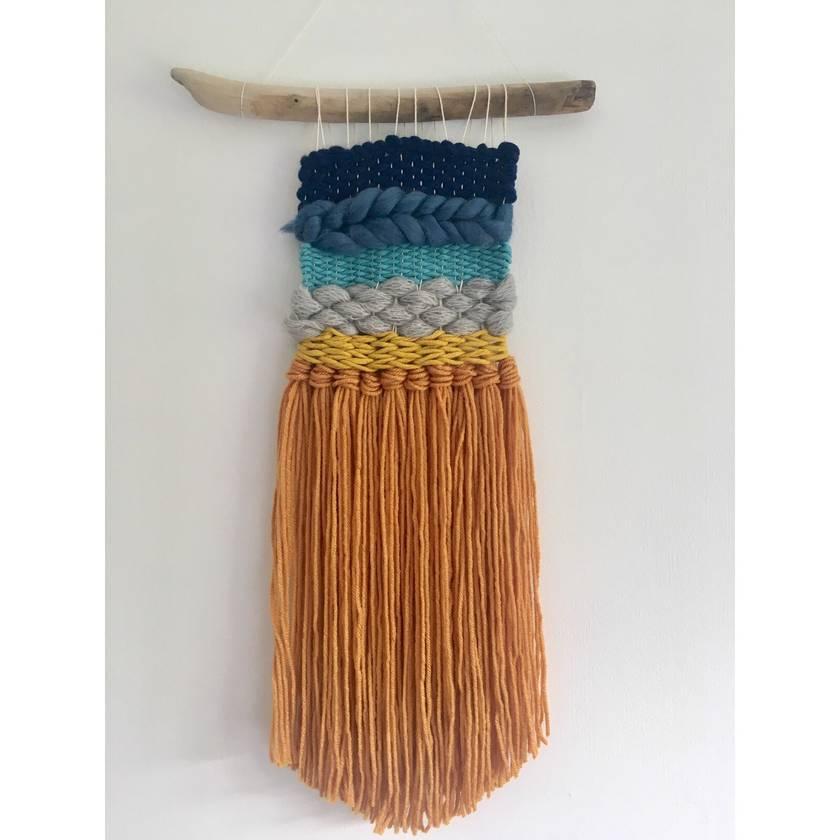 Beach Woven Wall Hanging - Mini Weave