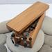 SALE NZ Made Rimu Riverwood Rectangle Plain Box medium - Flat Lid
