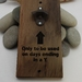 NZ Made Rimu River Wood Wall Mounted Bottle Opener  - Only to be used..........