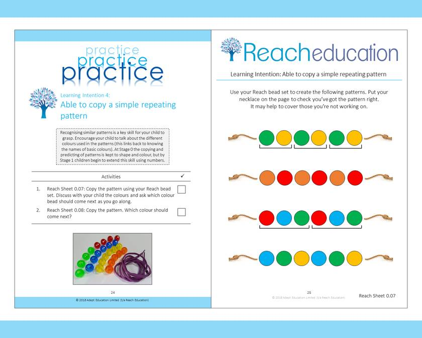 Book 1: Reaching Competence Maths Programme (ages 4-5)