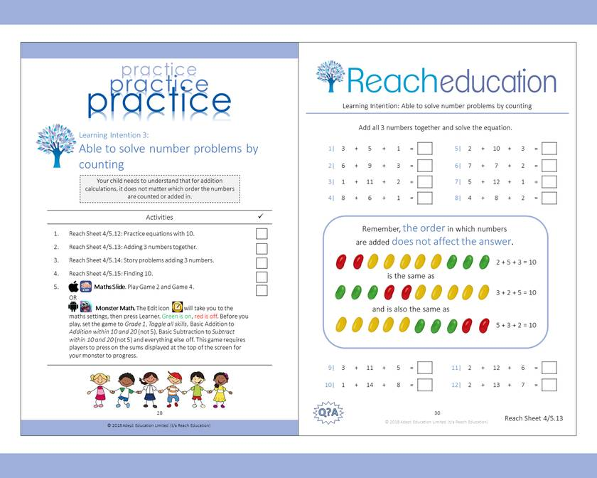 Book 8: Reaching Competence Maths Programme (ages 7-8)