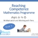 Book 7: Reaching Competence Maths Programme (ages 6-8)