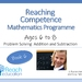 Book 6: Reaching Competence Maths Programme (ages 6-8)