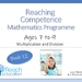 Book 12: Reaching Competence Maths Programme (ages 7-9)