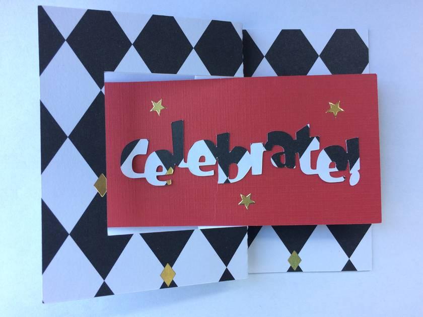 Celebrate swing card