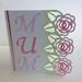 Mum rose mini greeting card