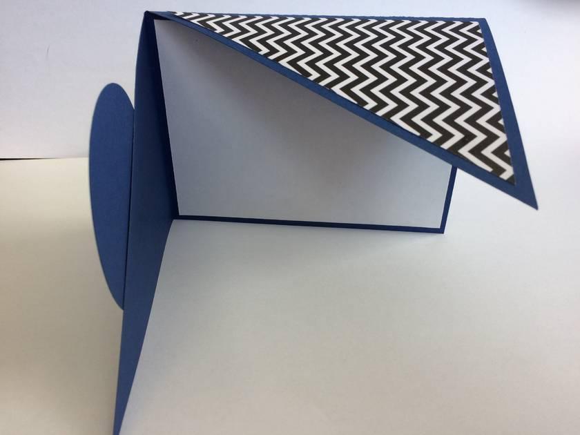 Celebrate angle fold card