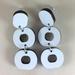 Loopy Earrings - white