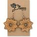 Mandala Earrings (Bamboo)
