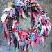 Wool Blanket Upcycled Wreath