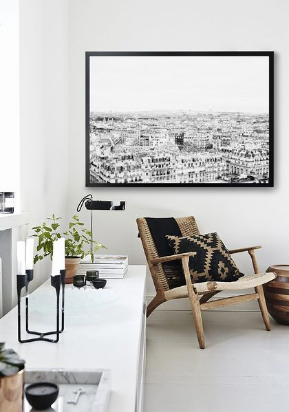 Cityscape | Paris B+W - Fine Art Photography Print