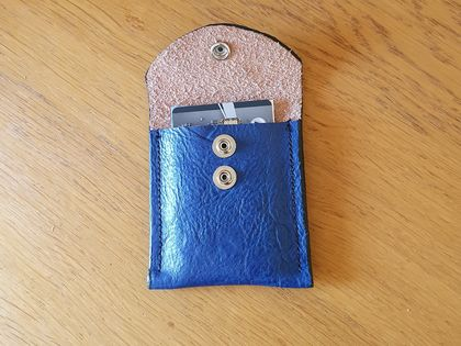 Leather card/cash pouch