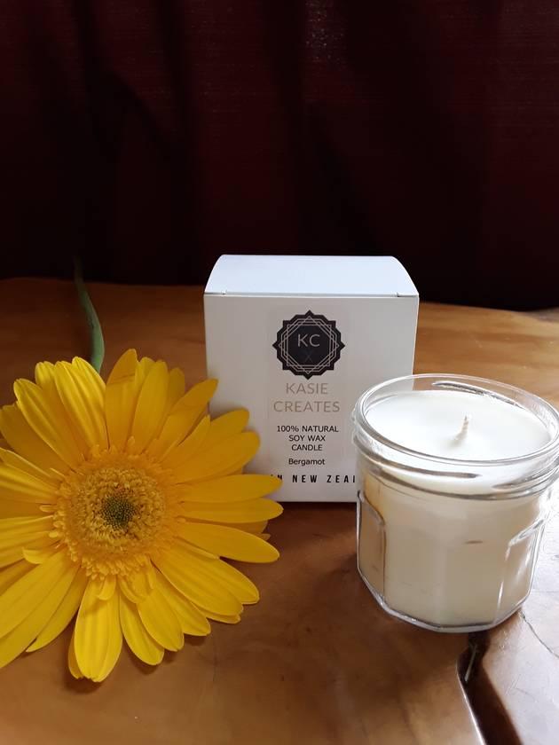 Natural Soy Candle - Bergamot