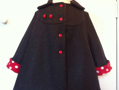 Pretty ladybug coat!