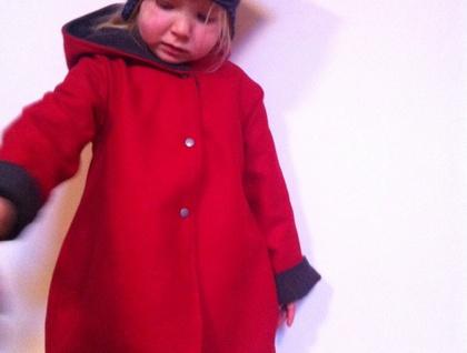 Bell shaped winter coat!