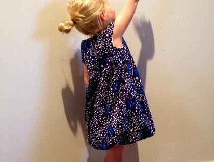 The 'La Papillon' bubble dress!