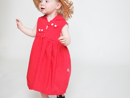 Little red riding hood dress !