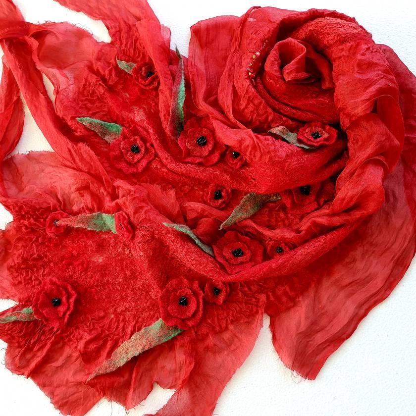 Fine Merino 100% silk