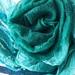 Fine Merino 100% silk  scarf