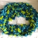 Colourful Blue Green cowl