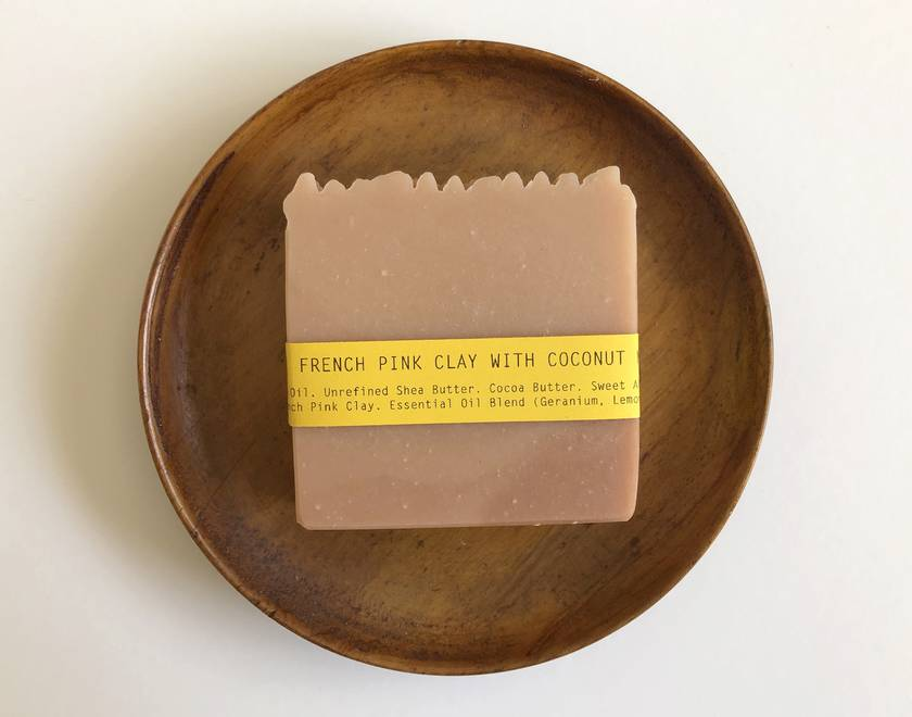 French Pink Clay with Coconut Milk Soap