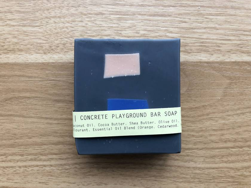 Concrete Playground Artisan Bar Soap