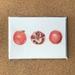 'Pomegranates' x 3 Fine Art Cards