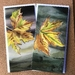 Set of 4 Fine Art Cards, 2 each of 'On the Breeze' and 'Flying High'