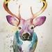 Original Deer painting