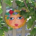 Garden Art Mask - Lola.