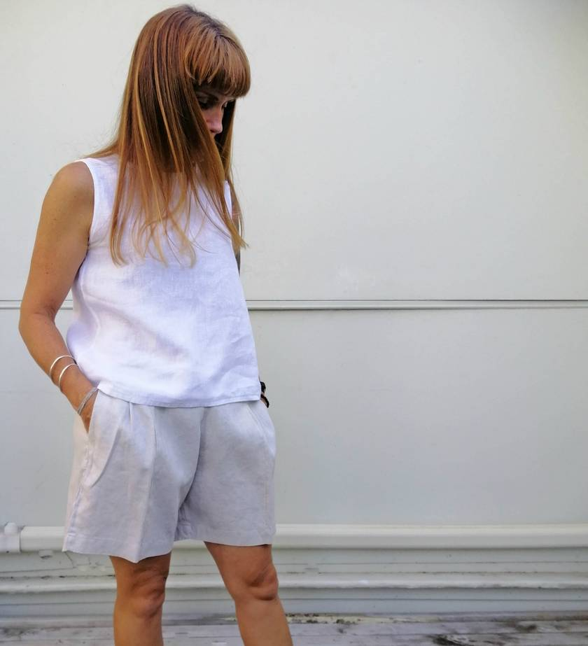 REDUCED - 40% OFF -Perfect linen shorts